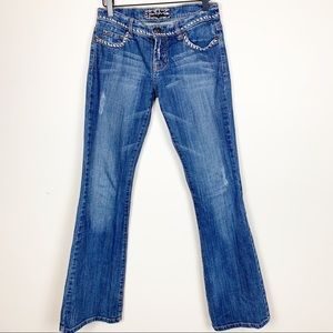 Switch USA | Mid Rise Bootcut Anthro Jeans